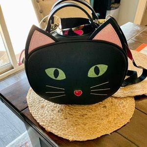 Betsey Johnson insulated Kitty Lunch Bag